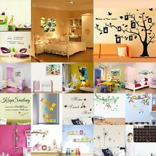 DIY Quote Word Art Removable Vinyl Wall Decal Sticker Room Mural Home Decor