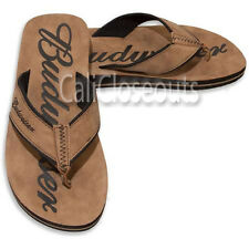 """Men's BUDWEISER SANDAL,  Flip Flops """"Suede Look"""" Various Sizes  NEW WITH TAGS"""