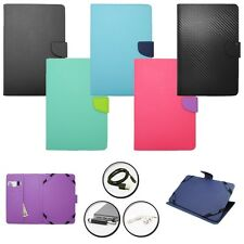 COVER TILE WALLET STAND TABLET CASE SAMSUNG GALAXY TAB 3 8.0 + ACCESSORY SET