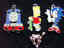 4pc Cartoon Pendants Charms CraftsYour Choice all Best Prices UK (*-*)
