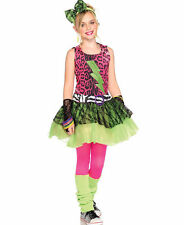Child Girls Totally 80's Amy Pop Star Cosplay Halloween Costume Fancy Dress