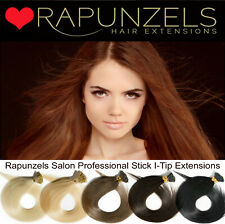 "25-250 stick Conseil, je Tip Remy Human Hair Extensions 18 ""aaa micro ring pré collées"