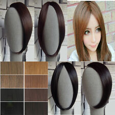 Pretty Girls Clip On Clip In Front Straight Hair Bang Fringe Hair Extension tb78