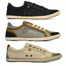 Ladies Womens New Leather Flat Canvas Pumps Plimsolls Trainers Casual Shoes Size
