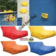 BRAND NEW GIANT WATER RESISTANT POOL LOUNGE CHAIR BEAN BAG INDOOR OR OUTDOOR