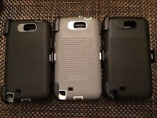Galaxy Note 2 Best Quality Case with Belt Clip Holster & Screen Protector
