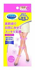 New Dr Scholl Medi QttO Outside Foot Slimming Natural Nude Stocking 2 size Japan