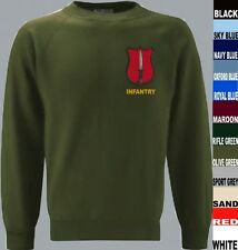 INFANTRY ITC CATERICK ARMY TRAINING SWEATSHIRT XS TO 5XL
