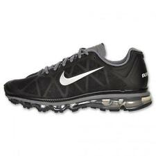 Nike AIR MAX+ 2011 - 429889 010 - New Mens Black Silver Running Shoes Sneakers