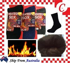 MEN MENS Thick Winter Warm Thermal WOOL Heat Heated WORK SOCKS Heavy Duty Bulk