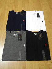 MENS RALPH LAUREN CREW NECK T-SHIRTS - S,M,L,XL - CUSTOM FIT -