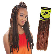 JANET Noir Afro Twist Braid Kanekalon Synthetic Marley Braiding Hair Extensions