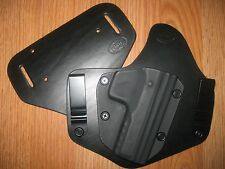 CZ IWB/OWB combo Kydex/Leather Hybrid Holster with adjustable retention
