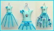 Baby/Girls Handmade FROZEN Tutu Hair bow Holder Gift Shower 2 FREE Bows
