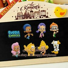 4PCS Bubble Guppies DIY Fridge Magnets,Refrigerator Magnets,Blackboard Stickers