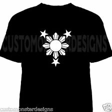 Philippines sun and stars T shirt Filipino Pride Pinoy Shirt