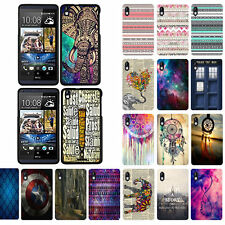 For HTC Desire 816 Design Snap On Slim Fit Hard Phone Case Cover