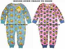 DESPICABLE ME / TWEETY Kids Onesie All-In-One Pyjamas Sleepsuit Primark (2-7Y)