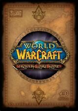 World of Warcraft Cards - Wrathgate 136 - 209 - Pick card WOW CCG