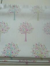 Luxury hand Made Roman Blinds Orchard Candy with Cassette rail