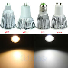 Ultra Bright 220V 3W 5W 7W COB GU10 MR16 GU5.3 E27 LED Spot Light Lamp Bulb