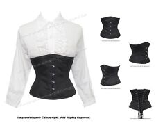 18 Steel Bones Waist Training Double Boned Underbust Shaper Corset #8567(TC)