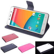 """Brand Fashion Stand Leather Cover case Skin For 5"""" Cubot X9 Smart mobile phone"""