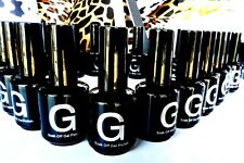 G NAIL 15ml UV Soak Off Gel Polish Curing Nail Req: UV LED Lamp Gel Nail Polish