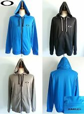 *NEW OAKLEY Mens Cardigan Hoodie Sweater Jacket Water Repellent Size M L XL XXL