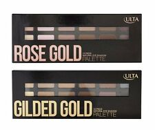 Ulta Cosmetics Rose Gold / Gilded Gold Natural Eye Shadow Palette New in Box