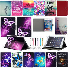 Popular Folio PU Leather Flip Stand Case Cover Gift +Stylus For 7 Inch Tablet PC