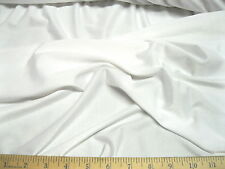 Discount Fabric Lycra /Spandex 4 way Super Stretch White LY780