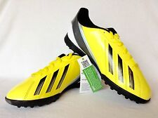Adidas Youth F5 TRX TF J  Indoor Soccer Cleats in Black and Yellow