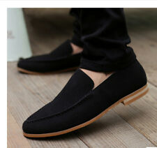New British Men's Casual Slip On Loafer Shoes Moccasins Driving Shoes
