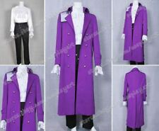 Purple Rain Movie And TV Cosplay Prince Rogers Nelson Costume Dark Purple Outfit