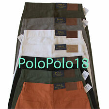 New Polo Ralph Lauren 5 Pocket Chino Pants 650 Straight 30 31 32 33 34 36 40