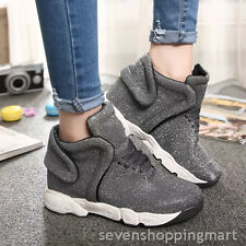 Women shoes High-top Juniors shoes Students Sport shoes walking running shoes
