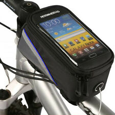 Bike Bicycle Frame Pannier Front Tube Handlebar Bag Case For Cell Phone