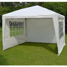 10'x10' EZ POP UP Wedding Party Tent Folding Gazebo W/Carry Bag Beach Canopy