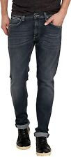 Mens Lee Luke Slim Tapered Jeans Dark Used Look All Sizes Available