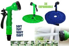 New FLEXIBLE EXPANDABLE Garden Hose Pipe with Spray Gun - 50/75/100/150 Feet