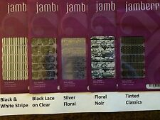 Jamberry Nail Wraps Half Sheet - 35 Designs - Free Next Day Shipping