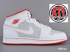 2015 NIKE AIR JORDAN 1 MID RETRO WB GS HARE BUGS BUNNY WHITE RED 719554-123