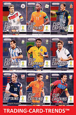 PANINI PRIZM WORLD CUP 2014 CUP CAPTAINS