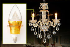 6x 10x E12 Base 6W 9W 10W Dimmable High Power LED Chandelier Candle Light Bulb