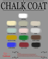 Chalk Coat Furniture Chalk Paint - 1 LITRE - FREE NEXT DAY POSTAGE - Shabby Chic