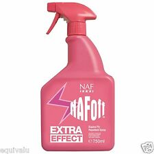 NEW Naf Off Extra Effect Natural Fly/Insect/Bug Repellent Spray Bottle FREE P&P