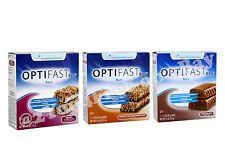 OPTIFAST® 800 BARS | 6 BOXES -CHOCOLATE -BERRY YOGURT -PEANUT BUTTER CHOCOLATE