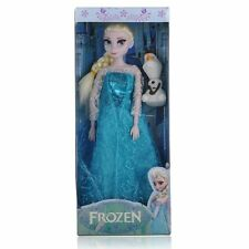 "Princess Elsa Anna Olaf 12"" Doll Figures Set Birthday Gift Playset"