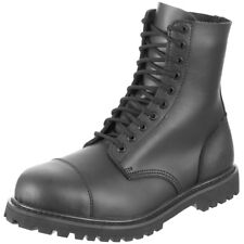 Surplus Undercover Tactical Mens Police Security Army Leather 10 Eye Boots Black